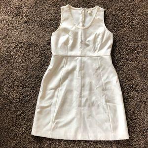J crew off white size 12 sheath dress